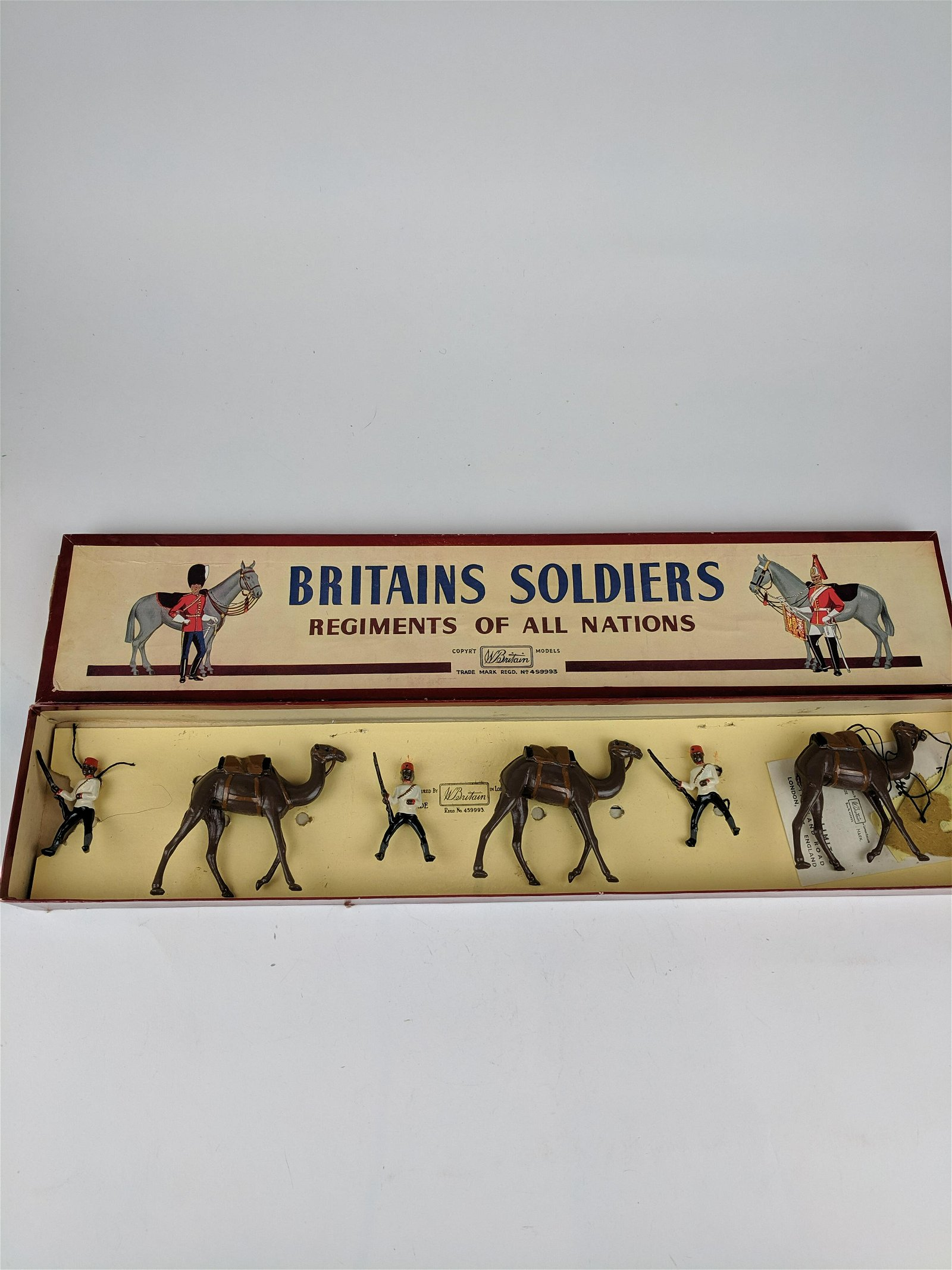 Britains #48 Egyptian Camel Corps