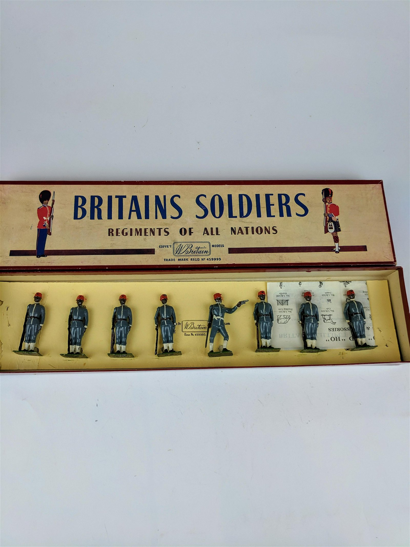 Britains #117 Egyptian Infantry
