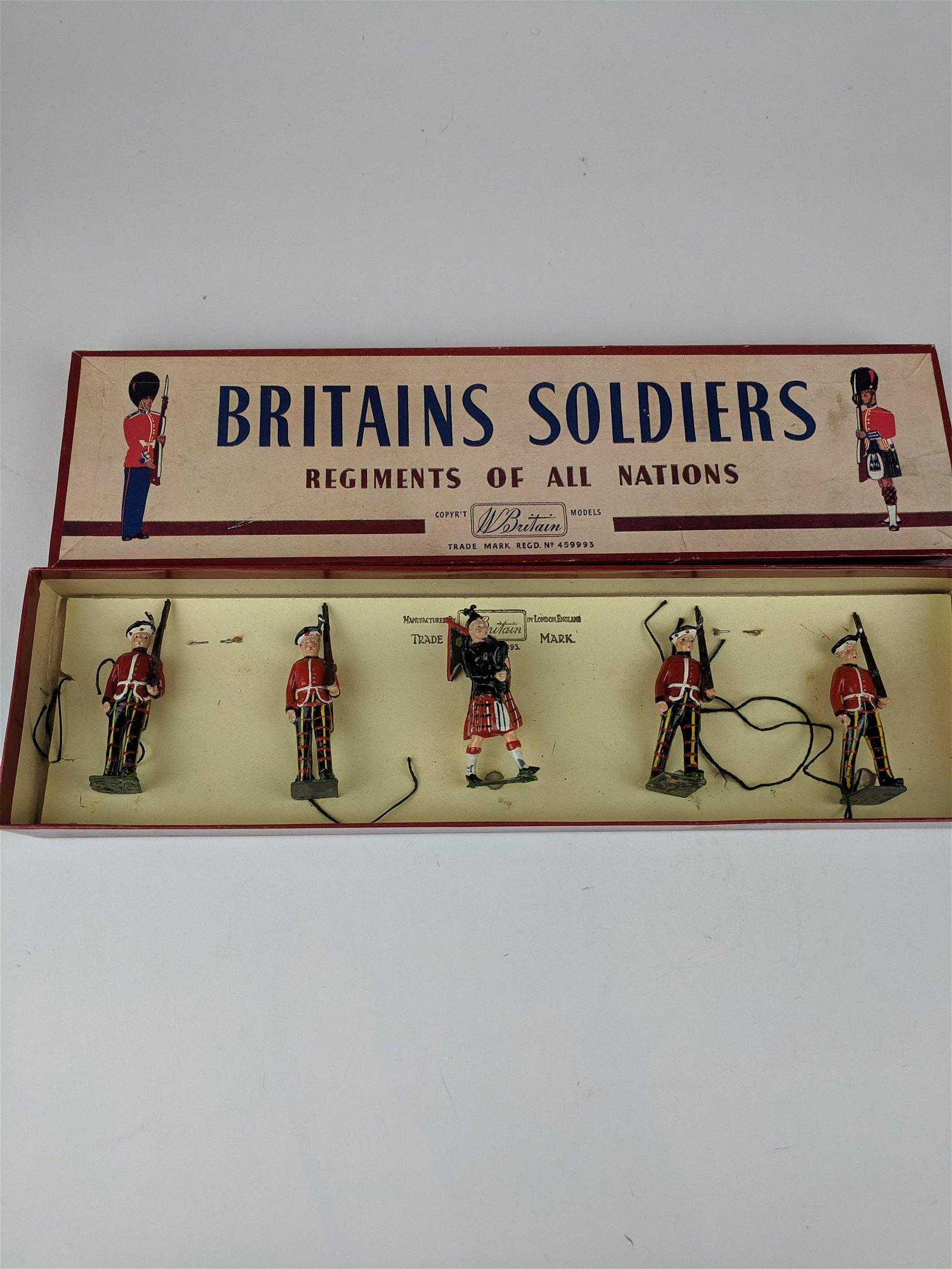 Britains #212 Royal Scots
