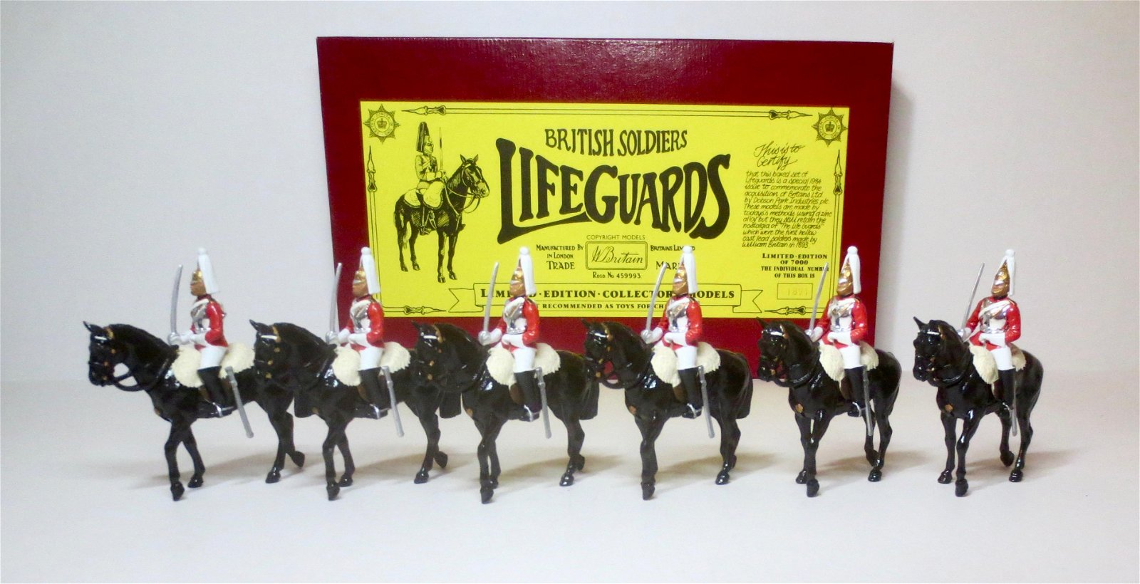 Britains #5184 The Life Guards
