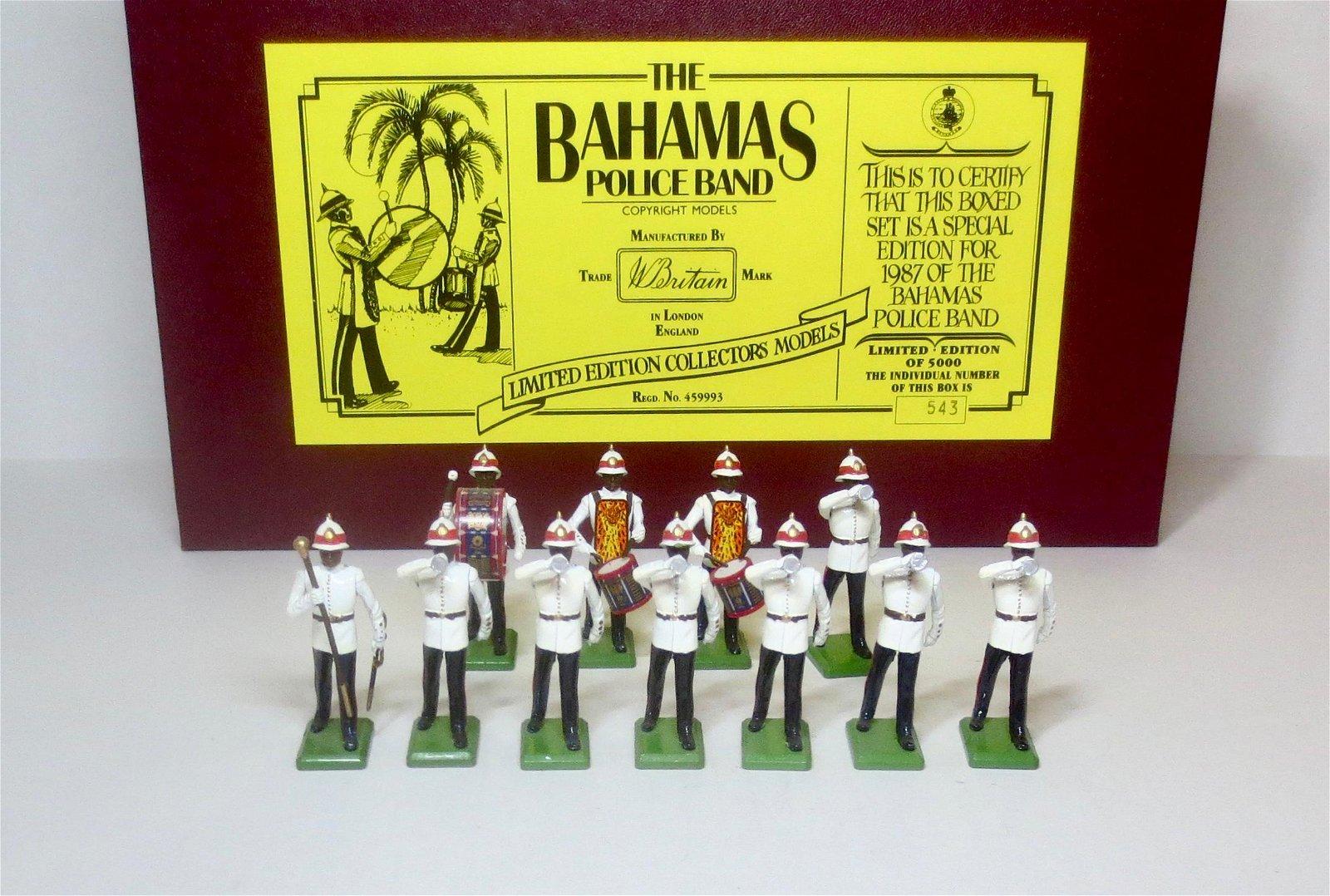 Britains #5187 Bahamas Police Band