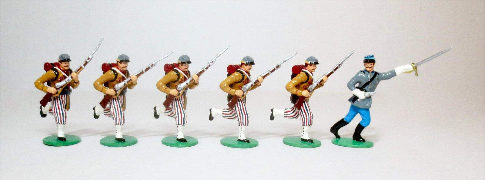 US Civil War Confederate Infantry