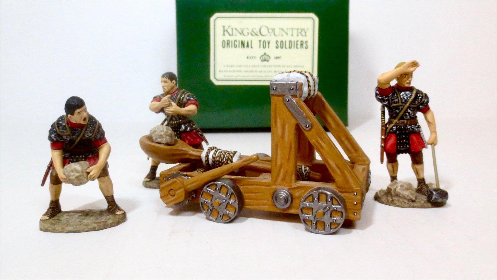 King & Country #RO14 Roman Catapult Set