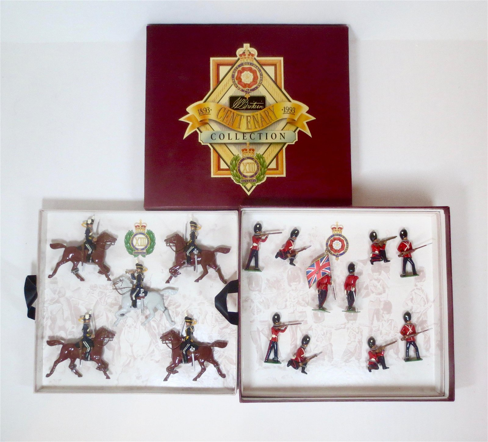 Britains #8813 Royal Fusiliers & XIII Hussars