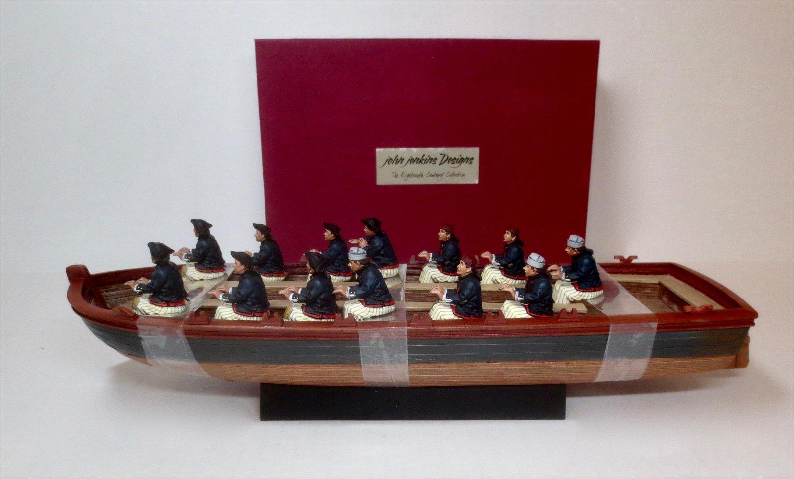 John Jenkins #QBoat01 and 02