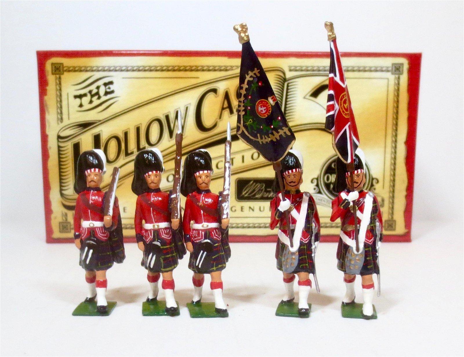 Britains #40189 Cameron Highlanders Colour Party