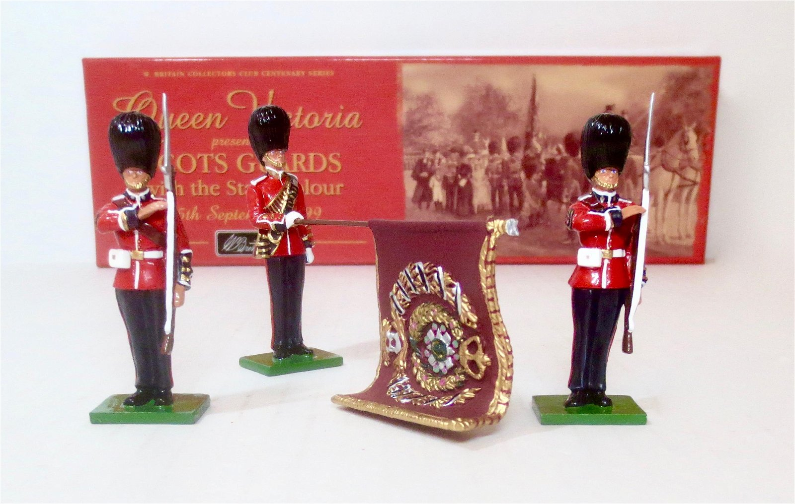 Britains #5991 Scots Guards Colour Party
