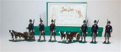 Beau Geste 123 WWI Belgian Dog Carts