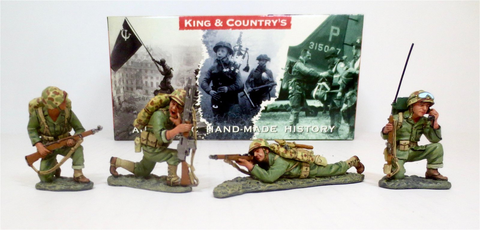 """King & Country #IWJ020 """"Return Fire"""""""