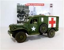 King  Country BBA037 US Army Ambulance