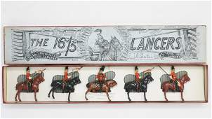 Britains set 33 16th lancers  with officer