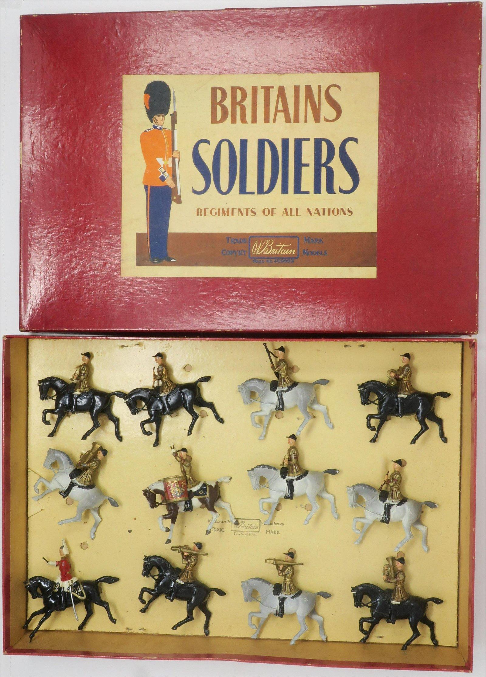 Britain's set #101 Life Guards Band