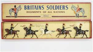 Britains set 2076 12th Lancers in original box