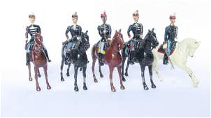 From Britains set 190 Belgian cavalry