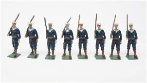 Britains set 230 US sailors blue jackets
