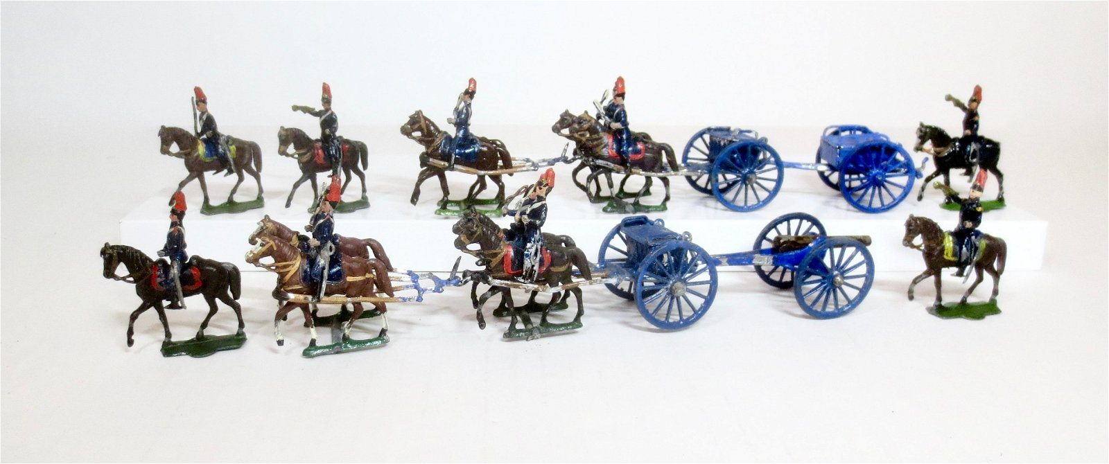 Mignot Royal Horse Artillery Teams and Outriders