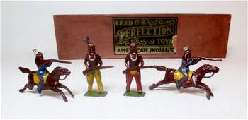 Perfection Toys RARE American Indians Boxed Set