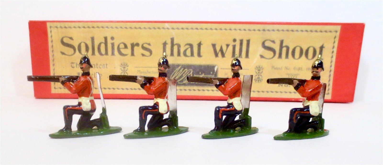 Britains Reproduction #25 Soldiers that Shoot