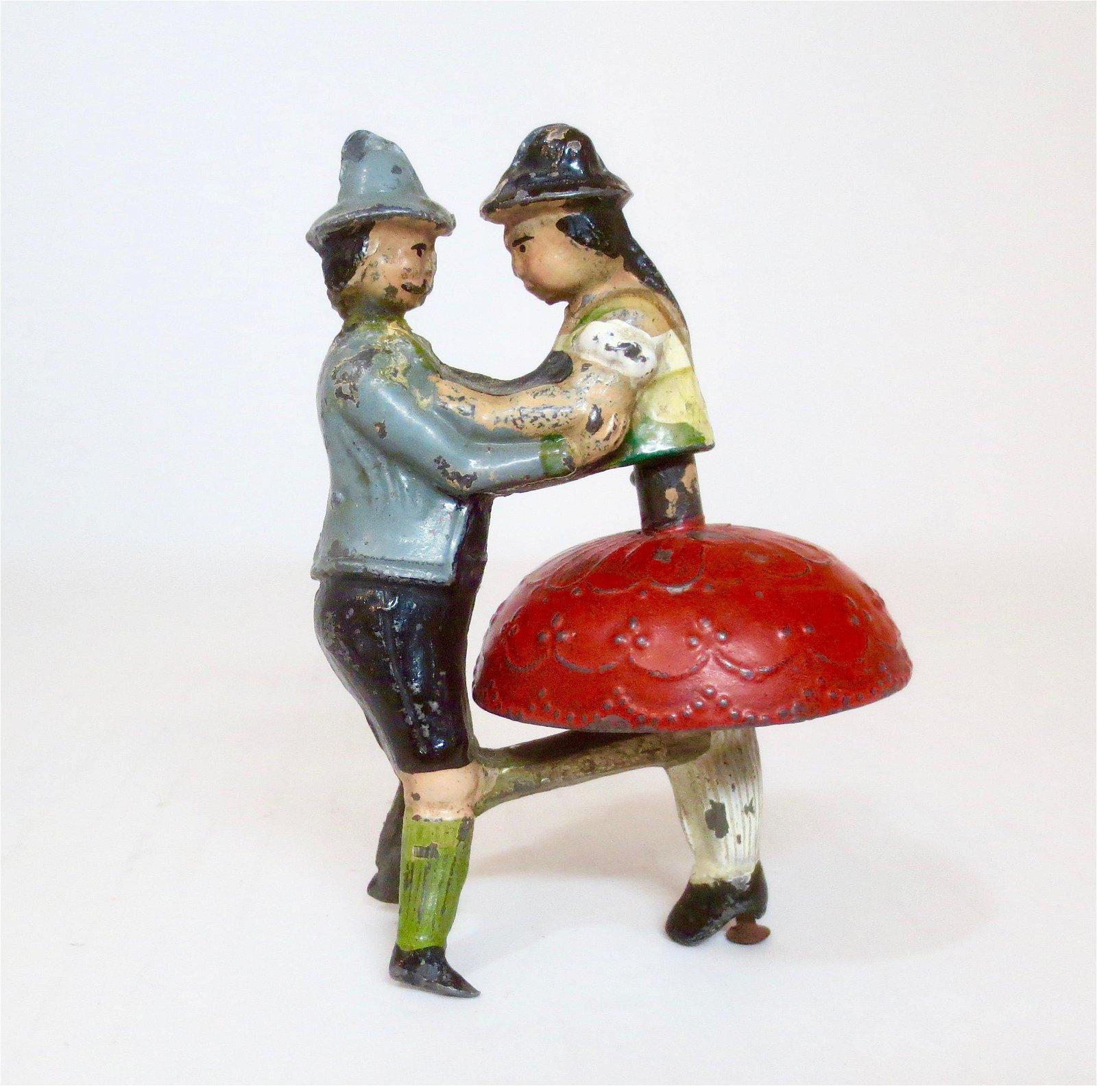 Heyde EXCEEDINGLY RARE Tyrolean Dancing Couple