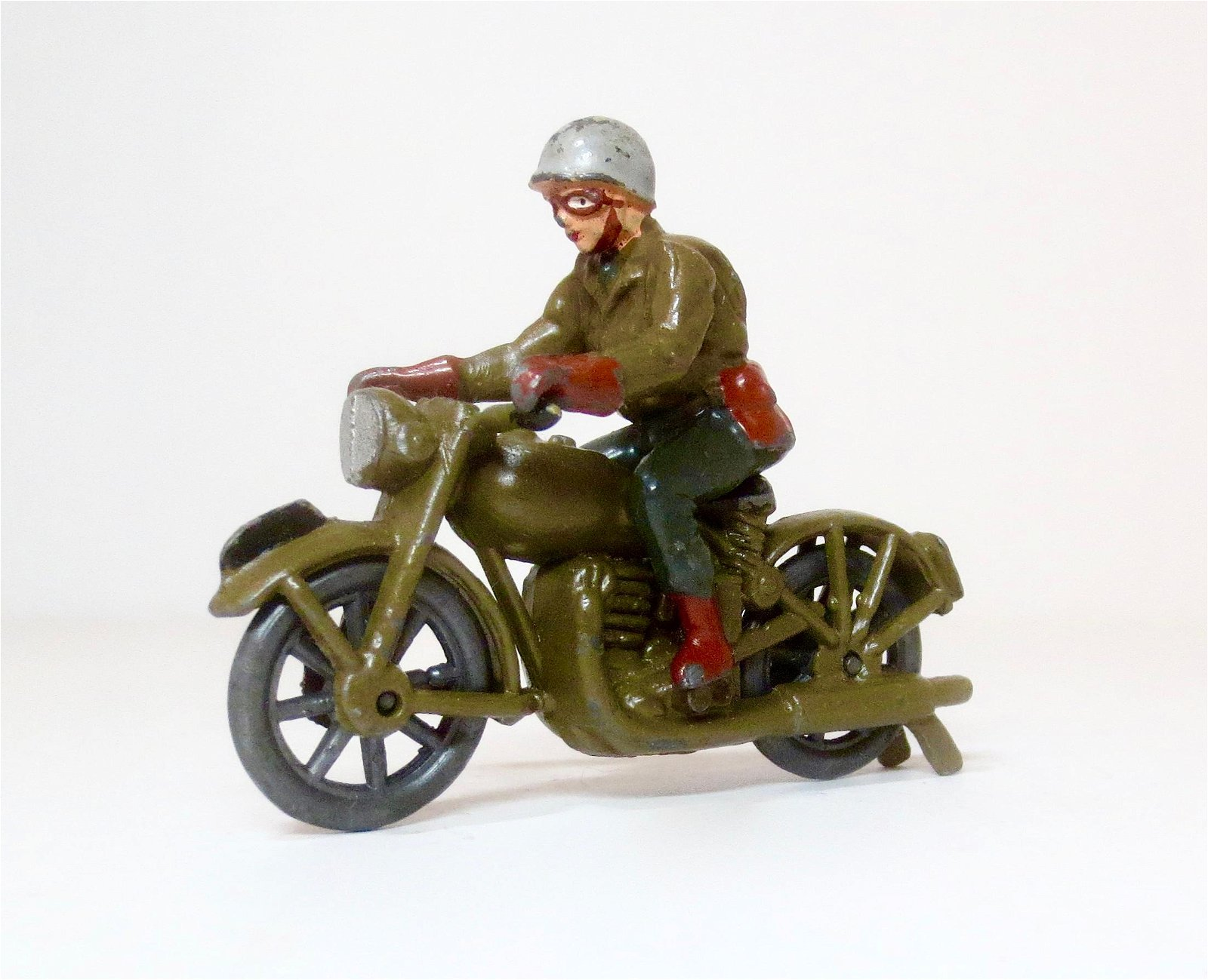 Timpo US Army Motorcycle Dispatch Rider