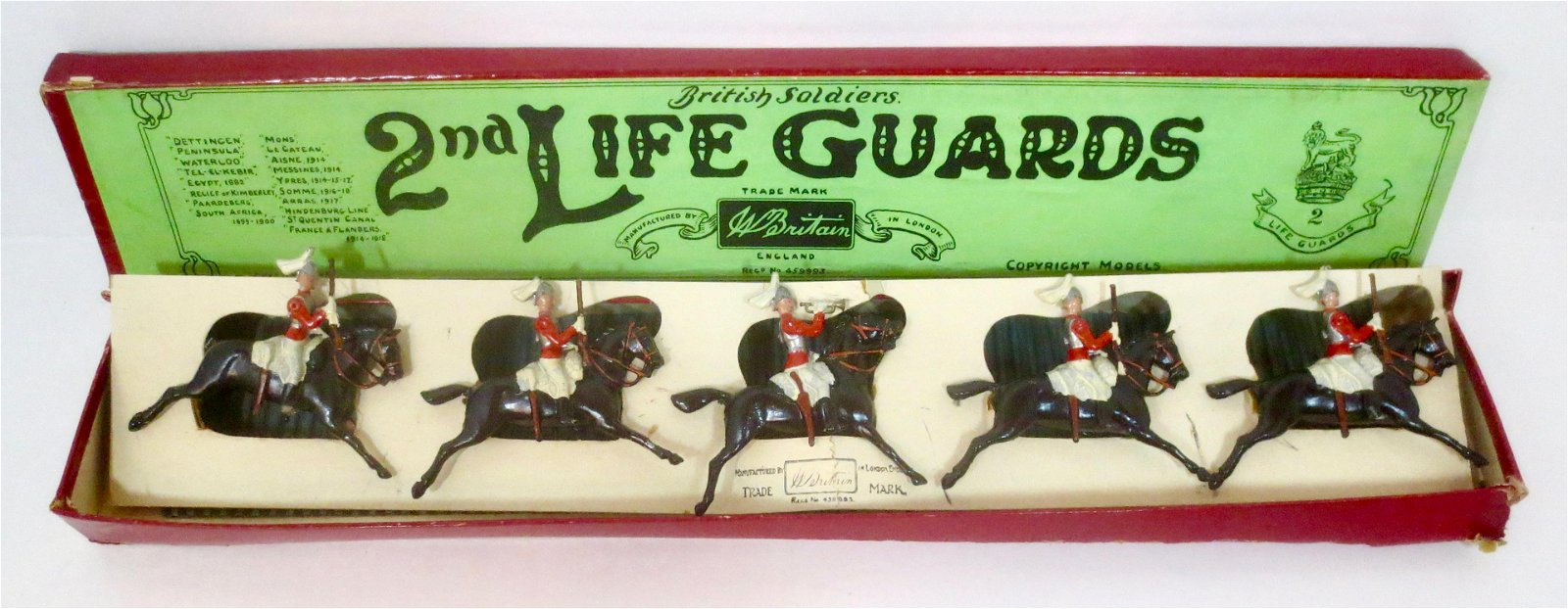 Britains #43 2nd Life Guards