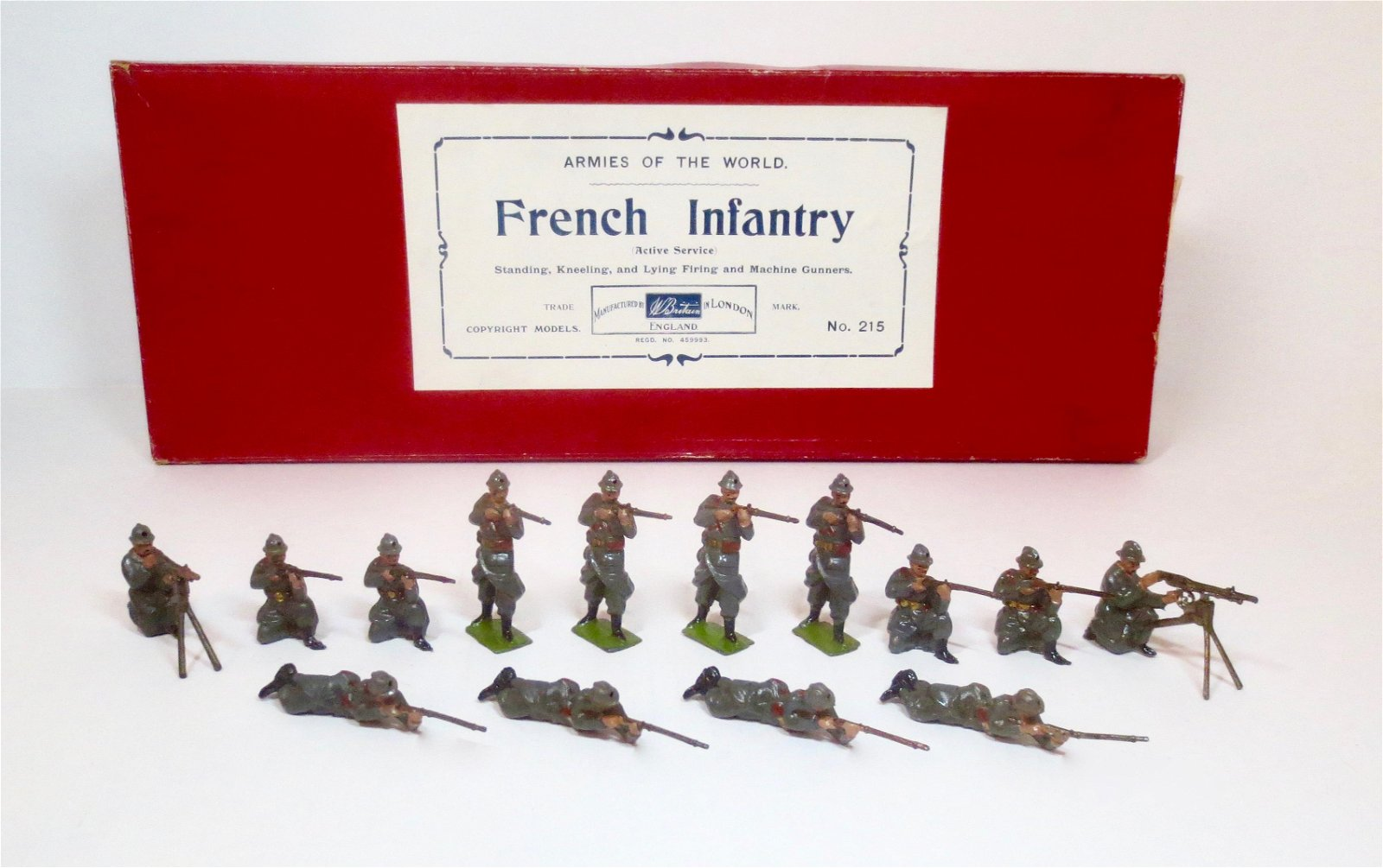Britains #215 French Infantry Display Set