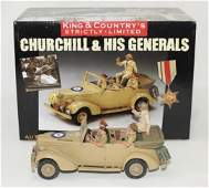 King  Country Churchill and His Generals
