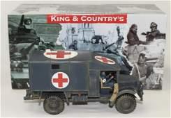 King & Country RAF Austin K2 Ambulance