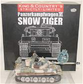 King  Country Snow Tiger Panzer VI