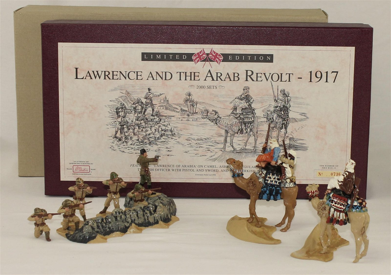 Britains Lawrence and the Arab Revolt