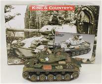King  Country US M24 Chaffe Tank Olive Drab