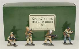 King  Country US and British Soldiers in Action