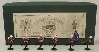 Alymer British 24th Foot Advancing