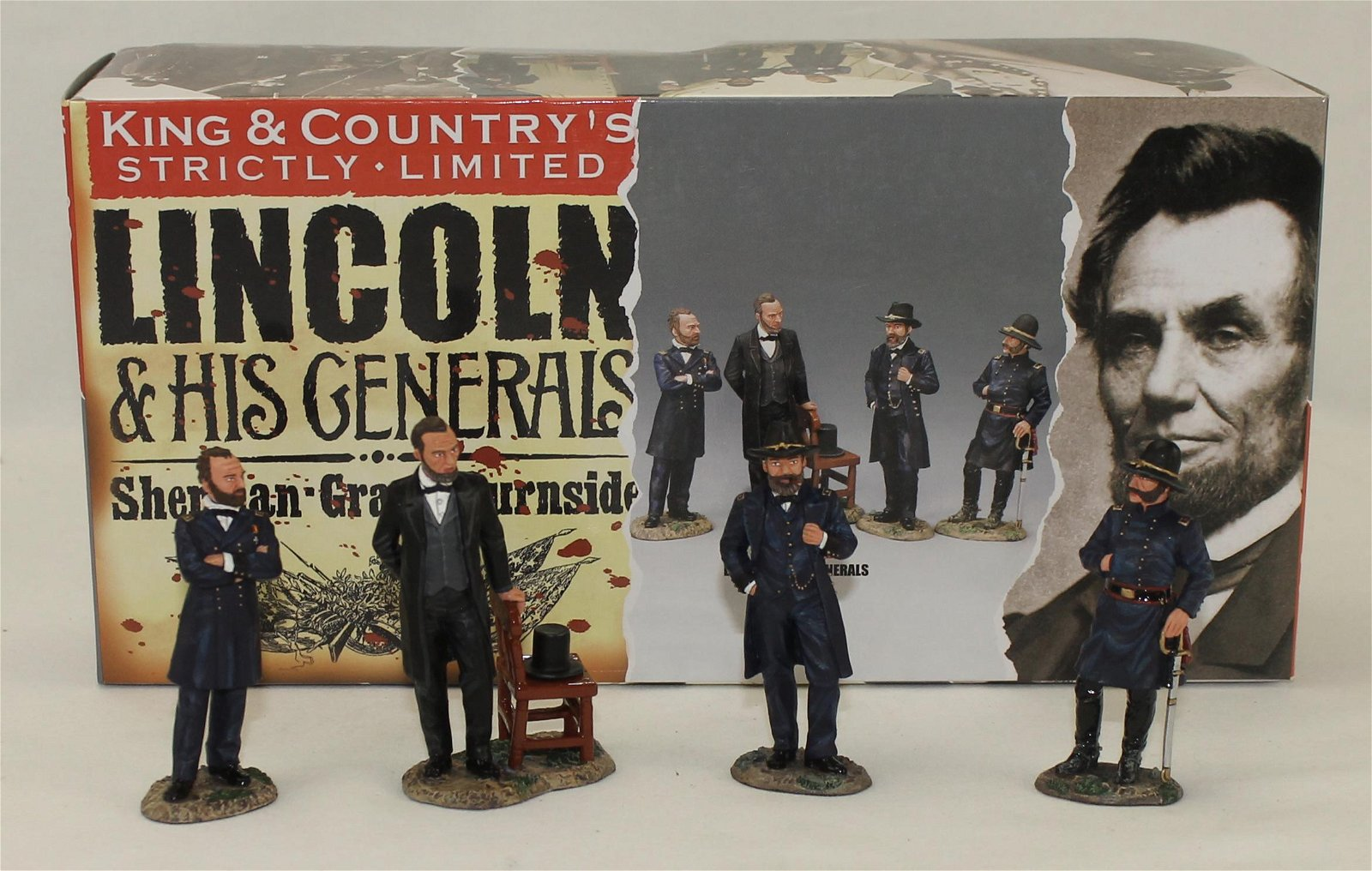 King & Country Lincoln and His Generals