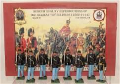 Alte Deutsche Spielfiguren Union Infantry