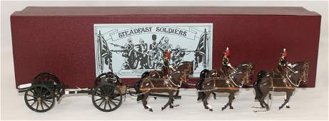 Steadfast Soldiers Kings Artillery Gun Team