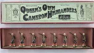 Britains Set #114 Pre-War Cameron Highlanders.