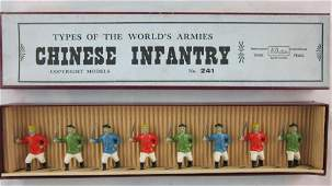 Britains Set #241 Pre-War Chinese Infantry.