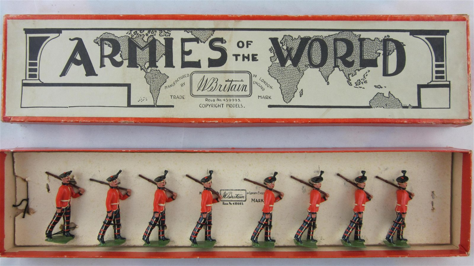 Britains Set #1395 King's Scottish Borderers.