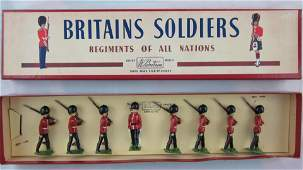 Britains Set 1634 Canadian Foot Guards