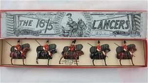 Britains Boxed Set 33 16th5th Lancers At Halt