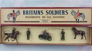 Britains Set 1907 Khaki Staff Officers