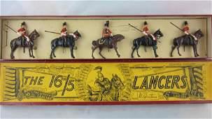 Britains Set 33 16th Lancers At Halt