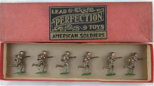 Lead Perfection Toys T104 American Soldiers
