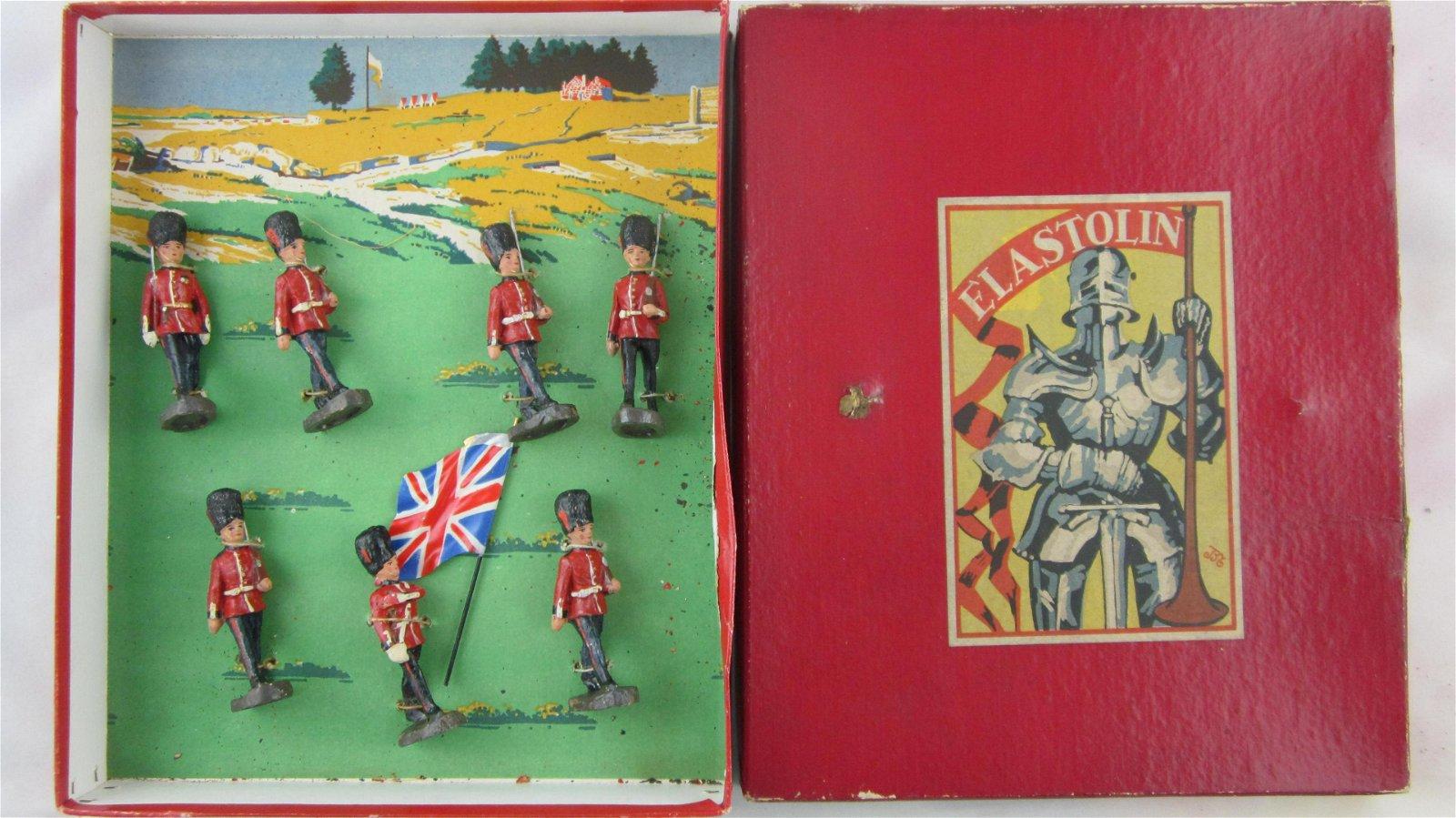 Elastolin Composition English Guards 1904.