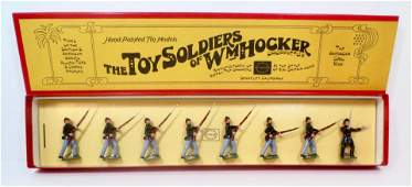 Wm Hocker 372 Union Infantry Advancing