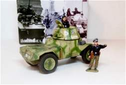 King  Country WS125 German Armored Car