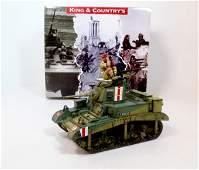 King  Country EA106 Stuart Honey Desert Tank