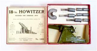 Britains #1265 RARE 18-in. Howitzer Set