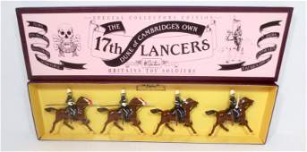 Britains Set 8806 The 17th Lancers